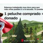 Peluches solidarios Ikea: peluches para la educación
