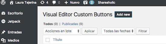 wordpress custom buttons añadir nuevo