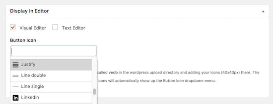 wordpress justificar texto plugin diseño