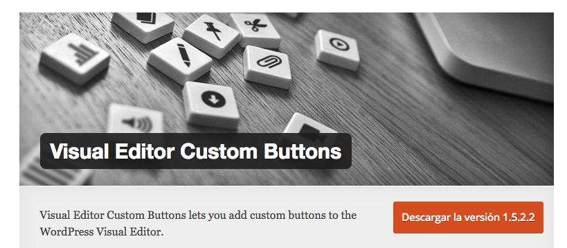 wordpress custom buttons plugin