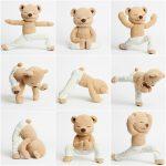 meddy teddy peluche yoga laura tejerina