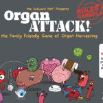 Organ Attack, un divertido juego de mesa sobre órganos y enfermedades