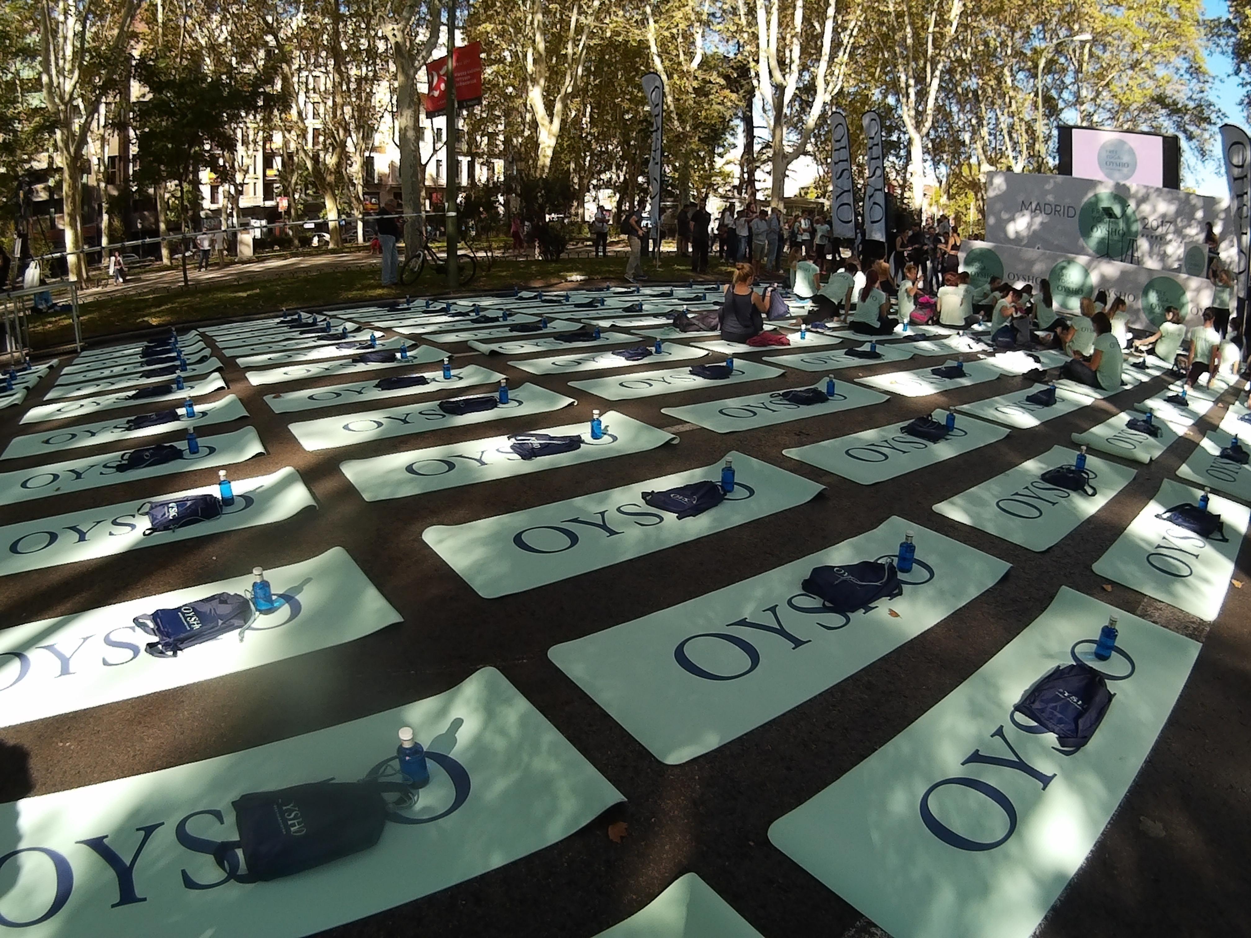 Free Yoga by Oysho Madrid 2017 – Laura Tejerina