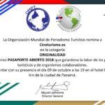 Estoy nominada al Premio Pasaporte Abierto 2018 – Laura Tejerina