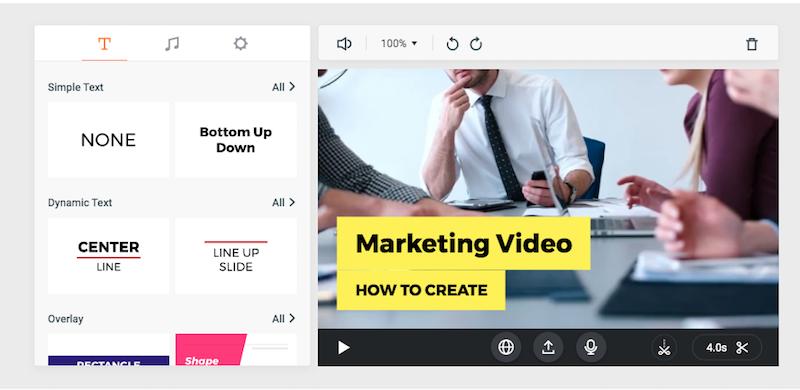 flexclip crear vídeos para redes sociales