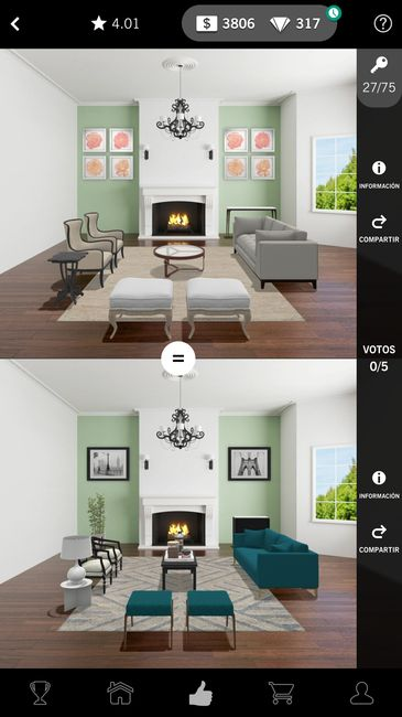 design home votaciones