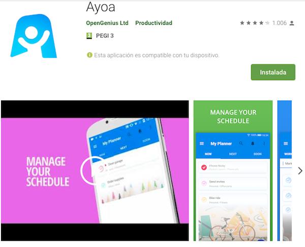 ayoa app móvil