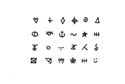 minimalist journal system iconos